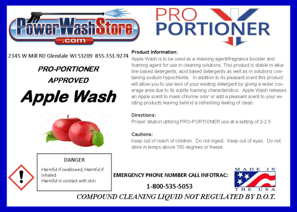 Fast Shipping Apple Wash - 1 Gallon for Sale Online